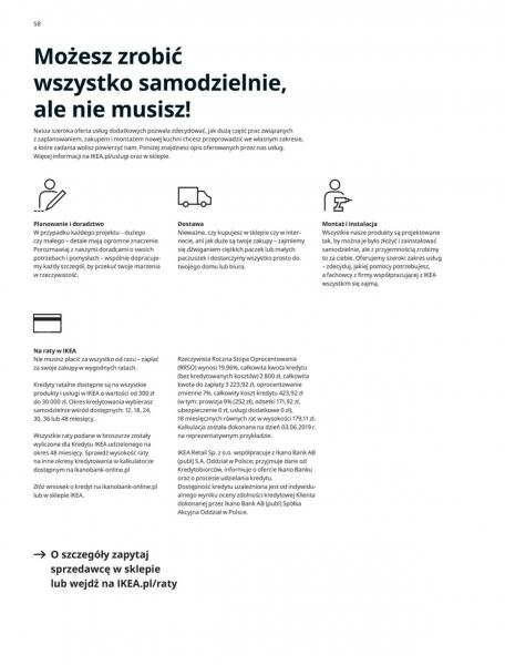 Ikea gazetka promocyjna od 2019-08-29, strona 58