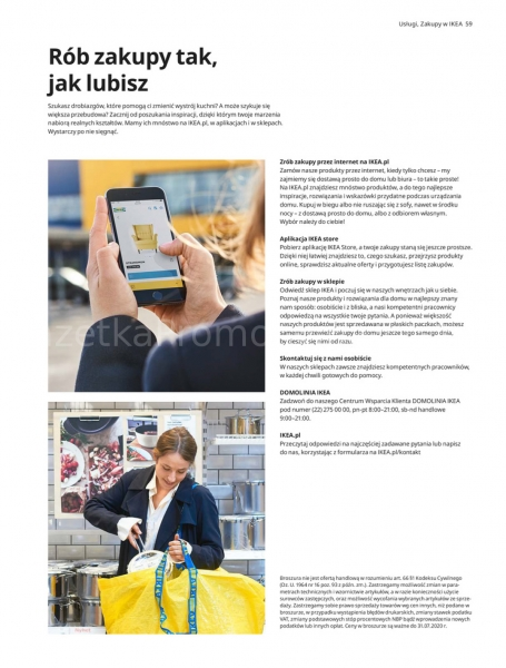Ikea gazetka promocyjna od 2019-08-29, strona 59