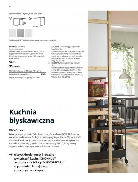 Ikea gazetka promocyjna od 2019-08-29, strona 62