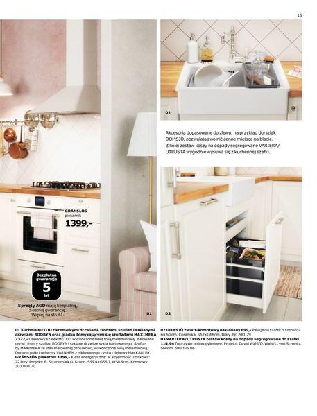 Ikea gazetka promocyjna od 2016-08-22, strona 15