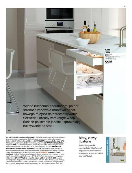 Ikea gazetka promocyjna od 2016-08-22, strona 31