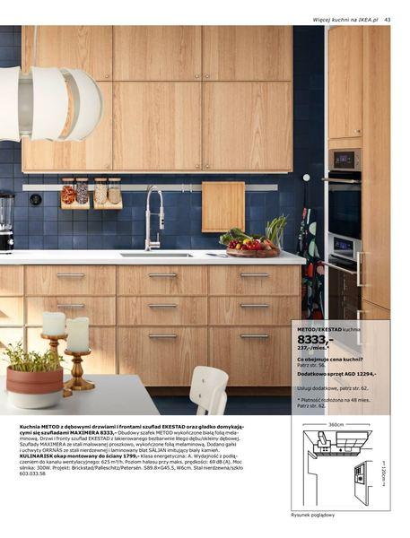 Ikea gazetka promocyjna od 2016-08-22, strona 43