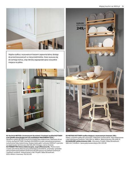 Ikea gazetka promocyjna od 2016-08-22, strona 51