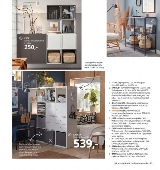 Ikea gazetka promocyjna od 2020-08-07, strona 185