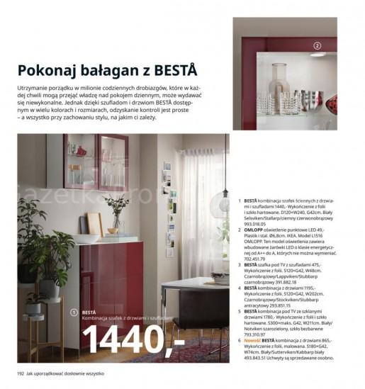 Ikea gazetka promocyjna od 2020-08-07, strona 192