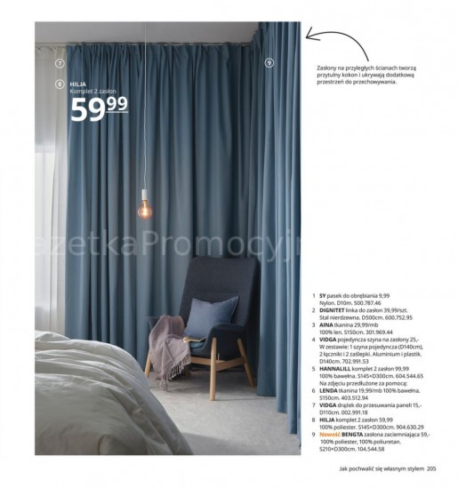 Ikea gazetka promocyjna od 2020-08-07, strona 205
