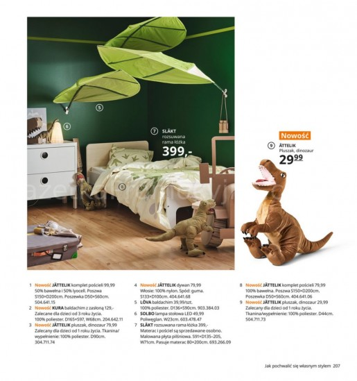 Ikea gazetka promocyjna od 2020-08-07, strona 207