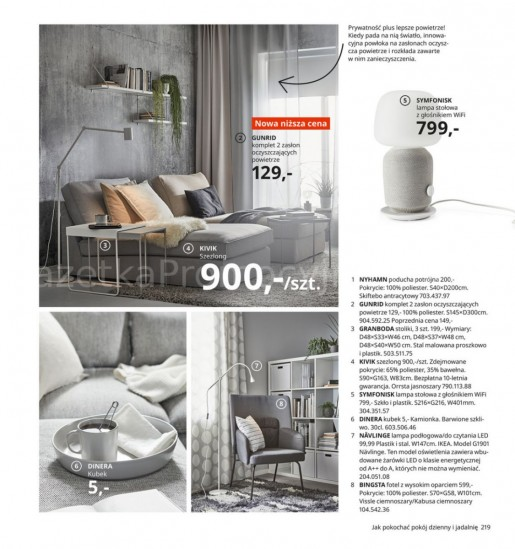 Ikea gazetka promocyjna od 2020-08-07, strona 219