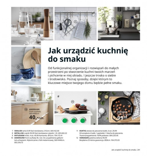 Ikea gazetka promocyjna od 2020-08-07, strona 241