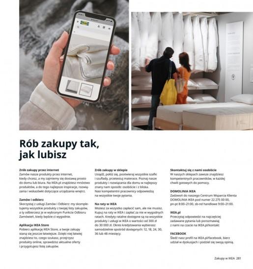 Ikea gazetka promocyjna od 2020-08-07, strona 281