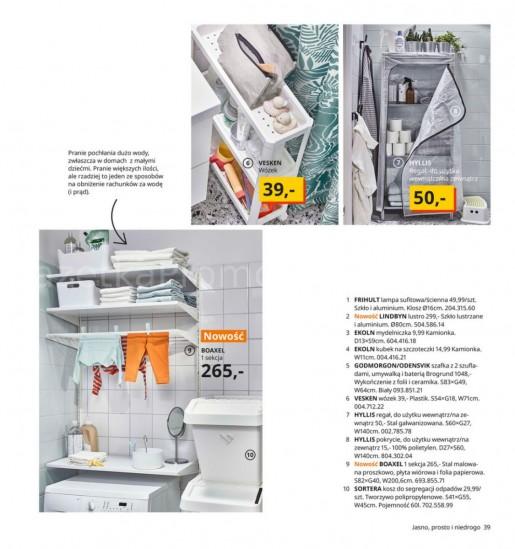 Ikea gazetka promocyjna od 2020-08-07, strona 39