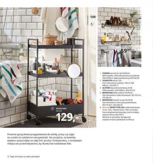 Ikea gazetka promocyjna od 2020-08-07, strona 72