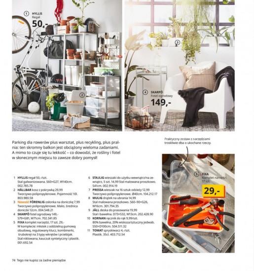 Ikea gazetka promocyjna od 2020-08-07, strona 74