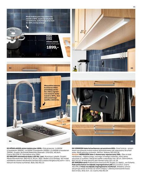 Ikea gazetka promocyjna od 2017-01-02, strona 45