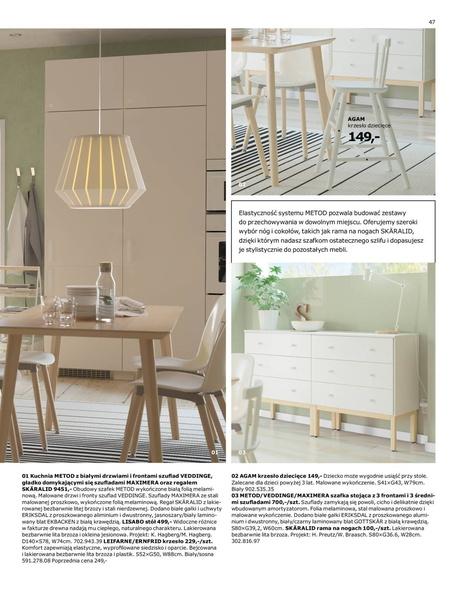 Ikea gazetka promocyjna od 2017-01-02, strona 47