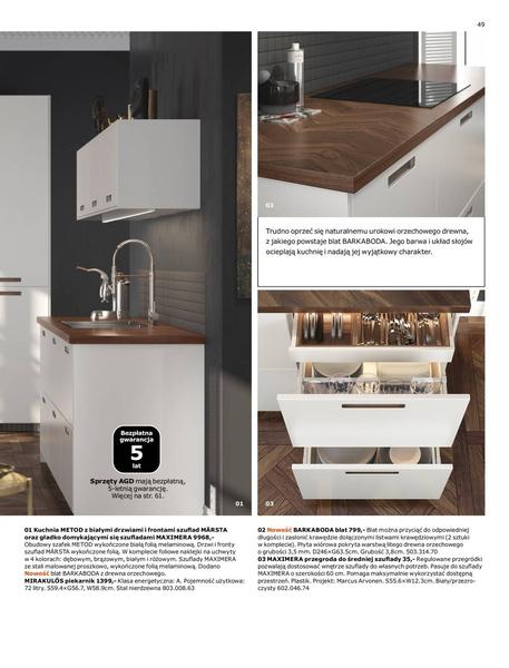 Ikea gazetka promocyjna od 2017-01-02, strona 49