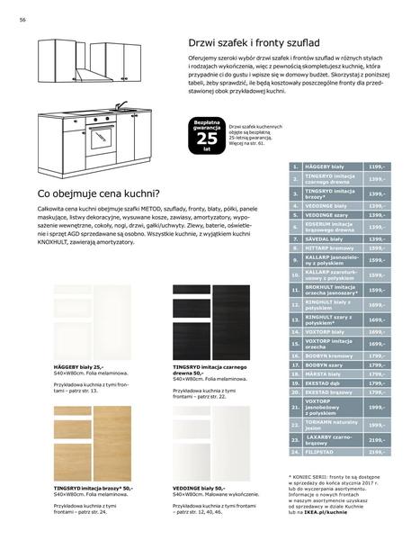 Ikea gazetka promocyjna od 2017-01-02, strona 56