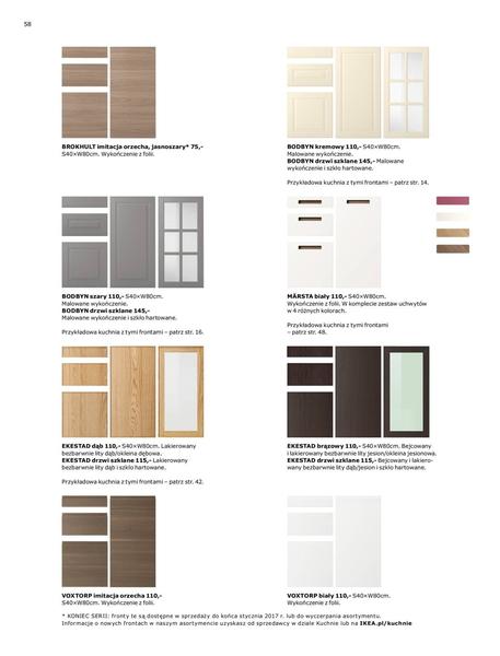 Ikea gazetka promocyjna od 2017-01-02, strona 58
