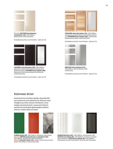Ikea gazetka promocyjna od 2017-01-02, strona 59