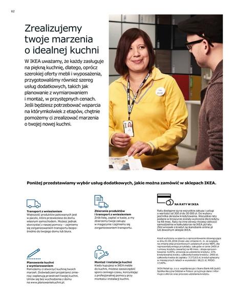 Ikea gazetka promocyjna od 2017-01-02, strona 62