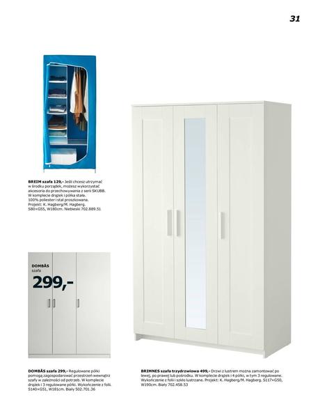 Ikea gazetka promocyjna od 2017-01-02, strona 31