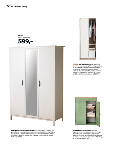 Ikea gazetka promocyjna od 2017-01-02, strona 32