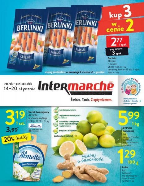 Intermarche gazetka promocyjna od 2020-01-14, strona 1