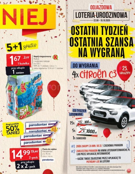 Intermarche gazetka promocyjna od 2020-10-13, strona 9