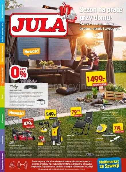 Jula gazetka promocyjna od 2021-04-23, strona 1