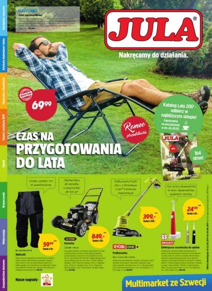 Jula gazetka promocyjna od 2017-05-22, strona 1