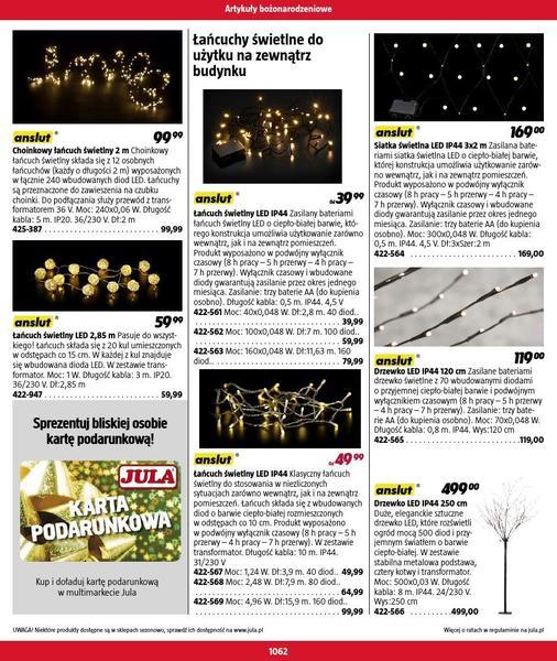 Jula gazetka promocyjna od 2016-09-01, strona 1062