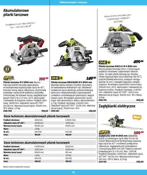 Jula gazetka promocyjna od 2016-09-01, strona 111