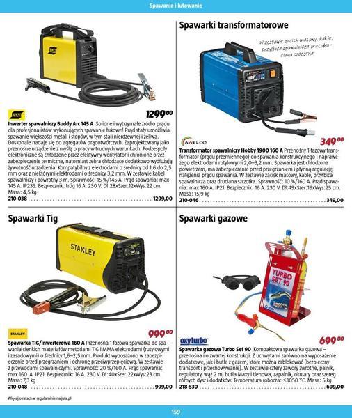 Jula gazetka promocyjna od 2016-09-01, strona 159