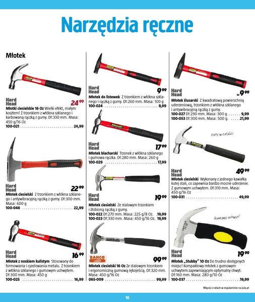 Jula gazetka promocyjna od 2016-09-01, strona 16