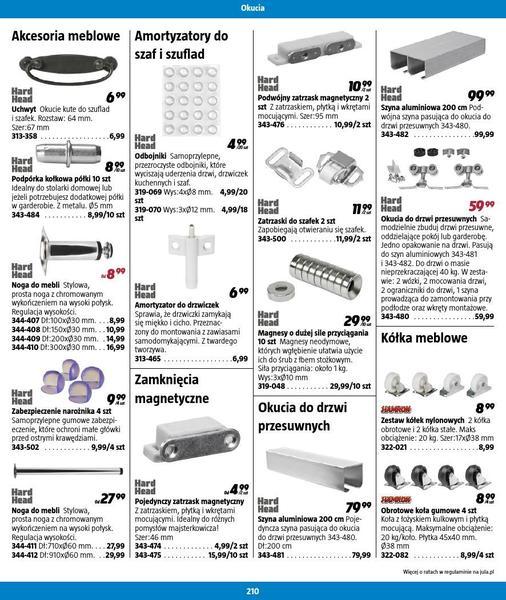 Jula gazetka promocyjna od 2016-09-01, strona 210