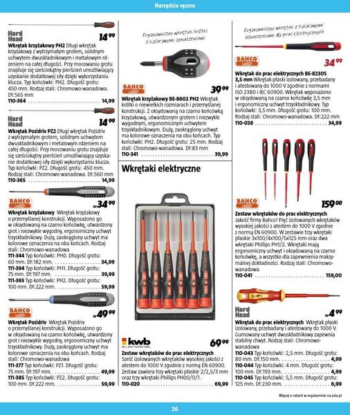 Jula gazetka promocyjna od 2016-09-01, strona 26