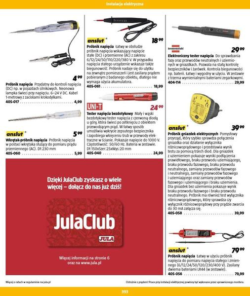 Jula gazetka promocyjna od 2016-09-01, strona 393