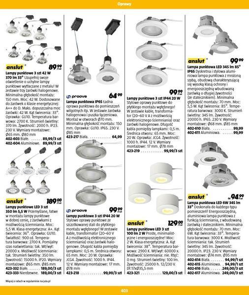 Jula gazetka promocyjna od 2016-09-01, strona 403