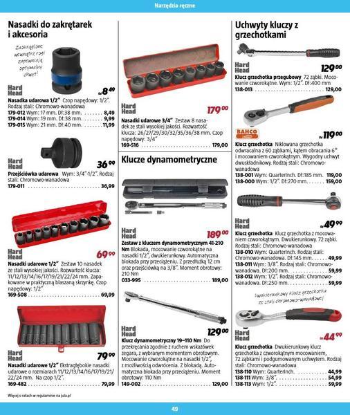 Jula gazetka promocyjna od 2016-09-01, strona 49