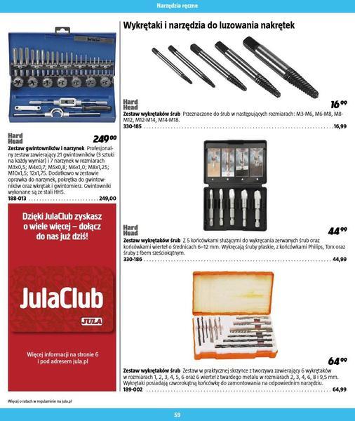 Jula gazetka promocyjna od 2016-09-01, strona 59