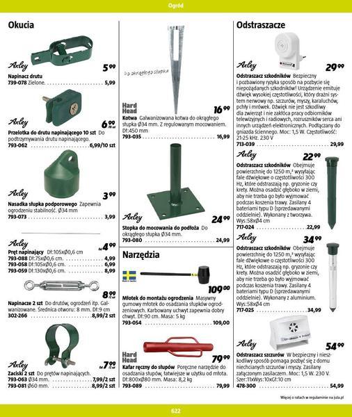 Jula gazetka promocyjna od 2016-09-01, strona 622
