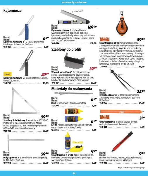 Jula gazetka promocyjna od 2016-09-01, strona 64
