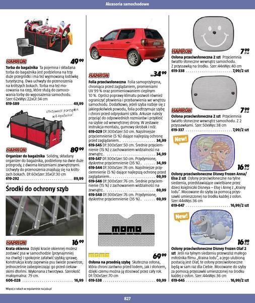Jula gazetka promocyjna od 2016-09-01, strona 827