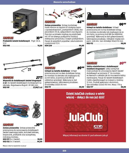Jula gazetka promocyjna od 2016-09-01, strona 839