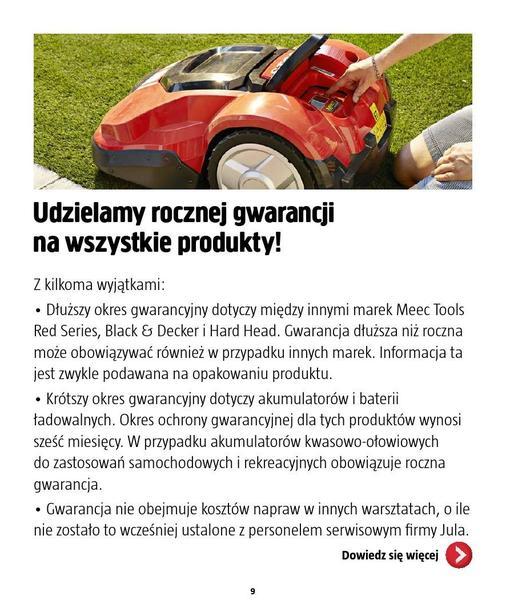 Jula gazetka promocyjna od 2016-09-01, strona 9