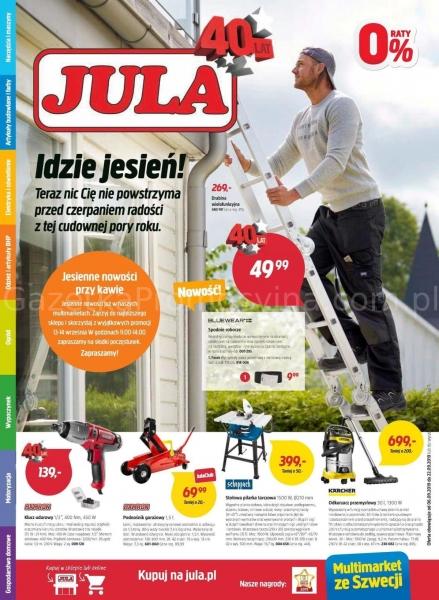Jula gazetka promocyjna od 2019-09-06, strona 1