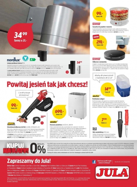 Jula gazetka promocyjna od 2019-09-06, strona 12