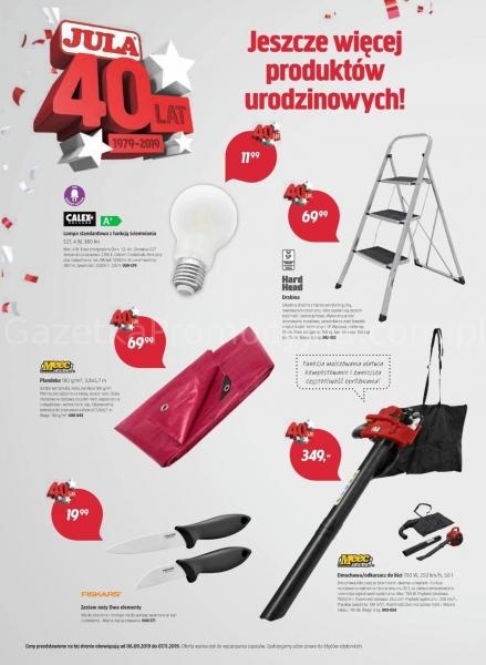 Jula gazetka promocyjna od 2019-09-06, strona 6