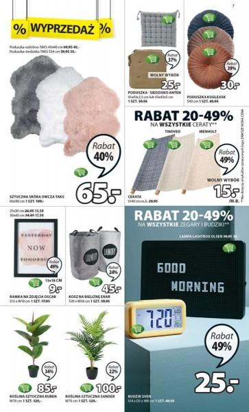 Jysk gazetka promocyjna od 2019-08-01, strona 7