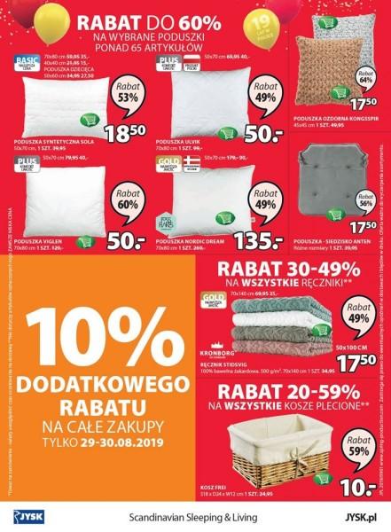 Jysk gazetka promocyjna od 2019-08-29, strona 32